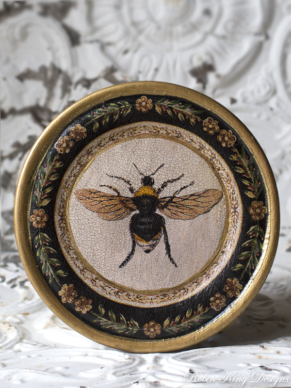 French Bee Plate