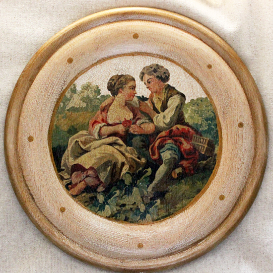 French Lovers Plate