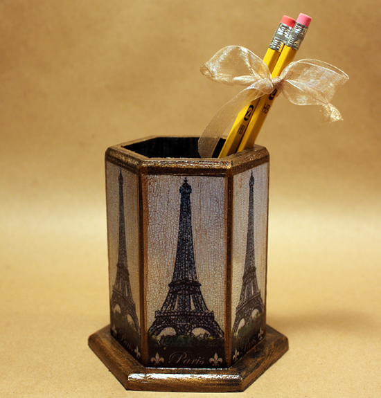 Paris Pencil Holder
