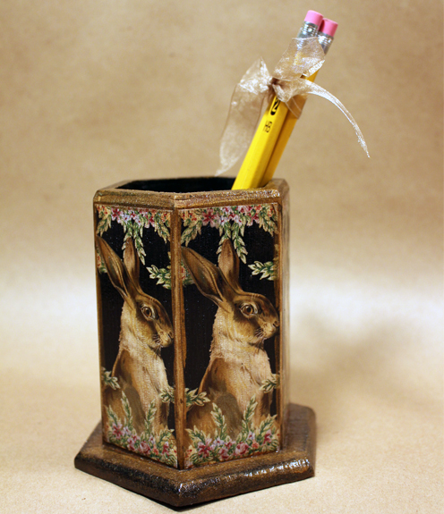 Rabbit Pencil Holder