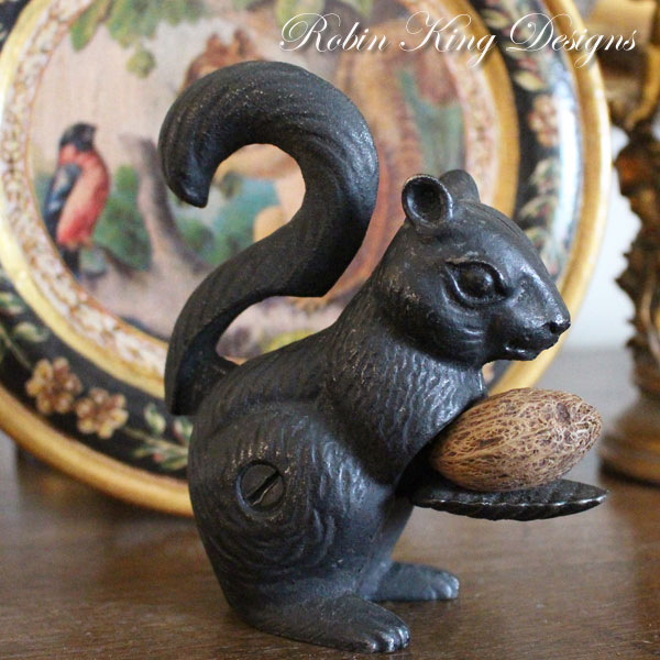 Antique Squirrel Nutcracker