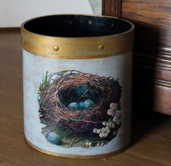 Bird Nest Wastepaper