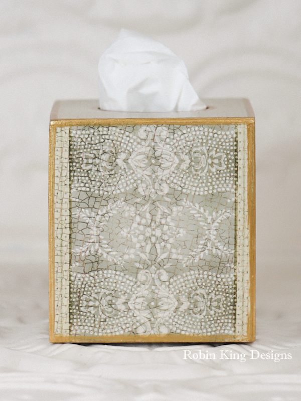 Coco Pattern Tissue Box Cover