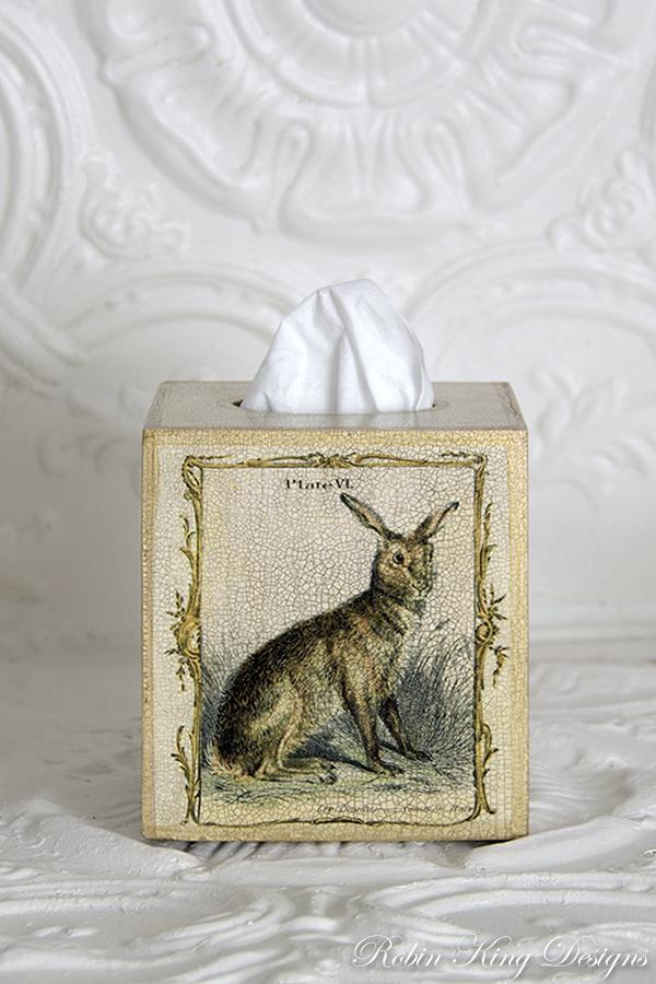 Common Hare Tissue Box Cover