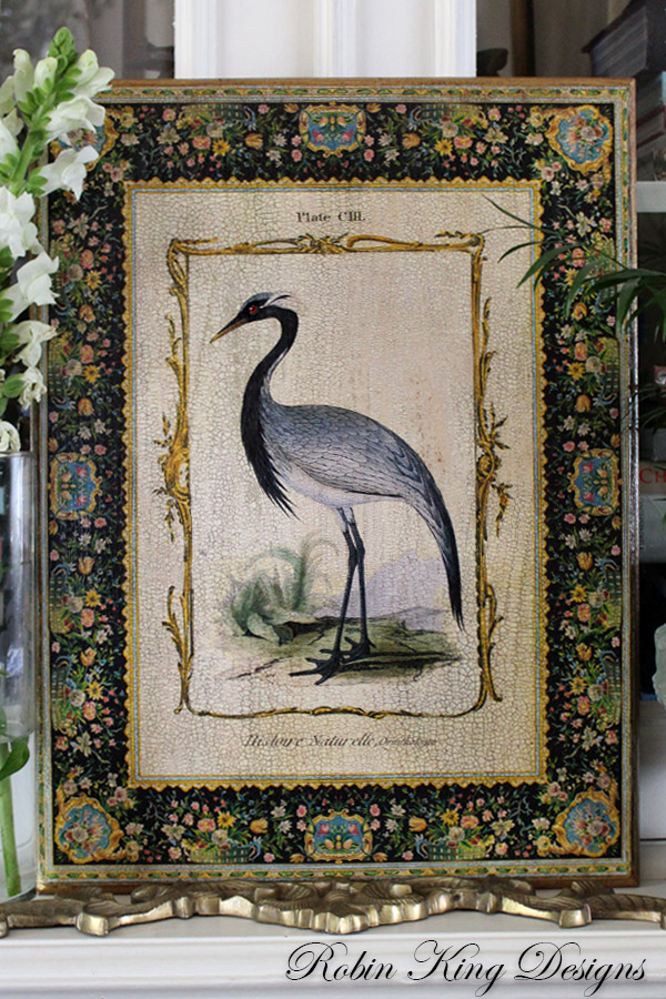 Beautiful Crane Wall Art