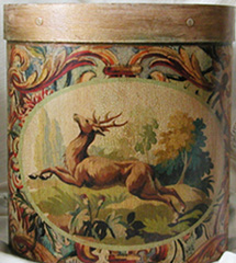Leaping Stag  Wastepaper Basket Tapestry Scrolls