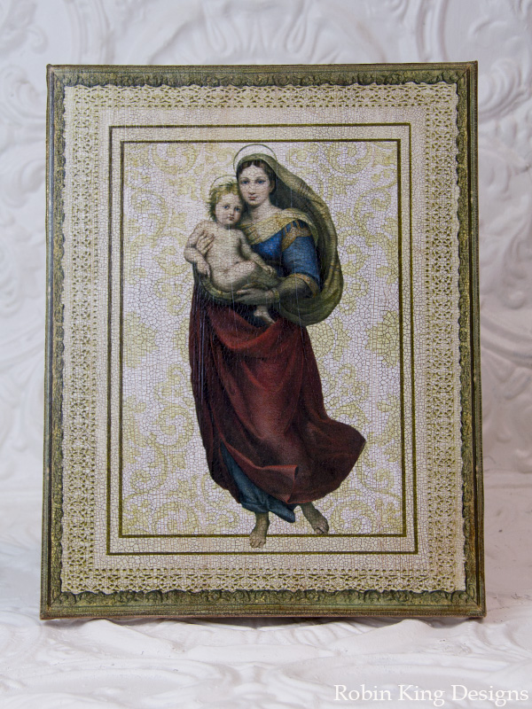 Mary and Jesus Canvas