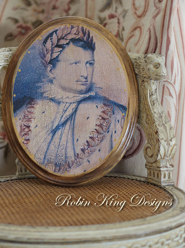 Napoleon with a  Laurel Wreath Crown