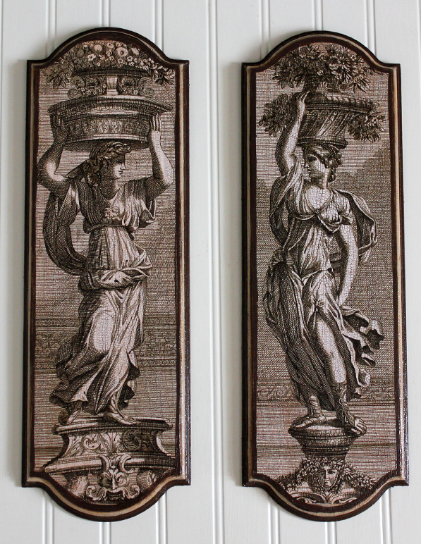 Neoclassical Plaque Set