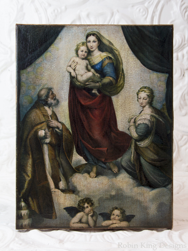 Sistine Madonna Canvas Art