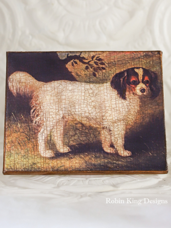 Spaniel on Canvas 8 by 10 Inches