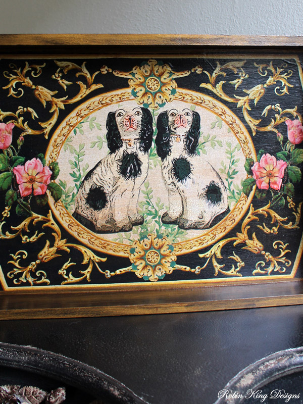 Staffordshire Dogs Tray