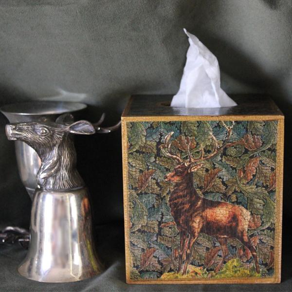 Stag Tissue Box Cover