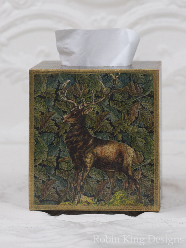 Stag Tissue Box Cover