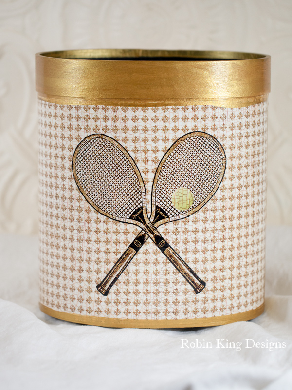 Tennis Wastepaper Basket